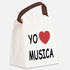 MUSICA.png Canvas Lunch Bag