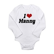 I Love Manny Body Suit