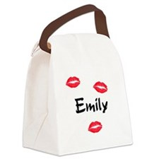 emily.png Canvas Lunch Bag