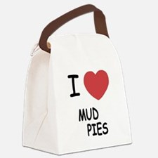 I heart Mud Pies Canvas Lunch Bag