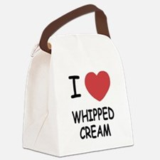 I heart Whipped Cream Canvas Lunch Bag