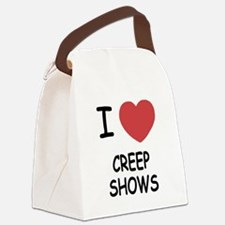 CREEP_SHOWS.png Canvas Lunch Bag