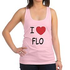 I heart Flo Racerback Tank Top