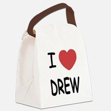 I heart Drew Canvas Lunch Bag