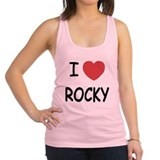 Rocky balboa Womens Racerback Tanktop