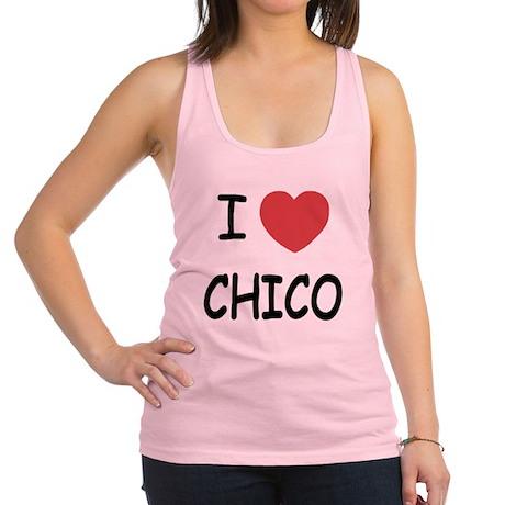 I heart Chico Racerback Tank Top