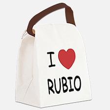 I heart Rubio Canvas Lunch Bag