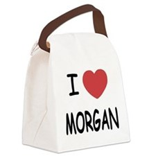I heart Morgan Canvas Lunch Bag