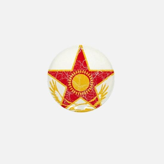 Kazakhstan Roundel Mini Button