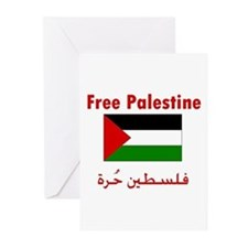 Free Palestine Greeting Cards (Pk of 10)