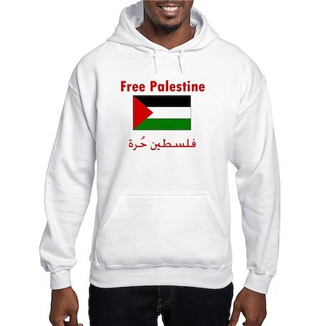Free Palestine Hooded Sweatshirt