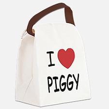PIGGY01.png Canvas Lunch Bag