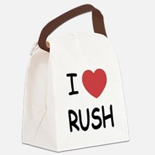 RUSH01.png Canvas Lunch Bag