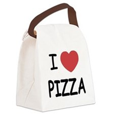 pizza01.png Canvas Lunch Bag