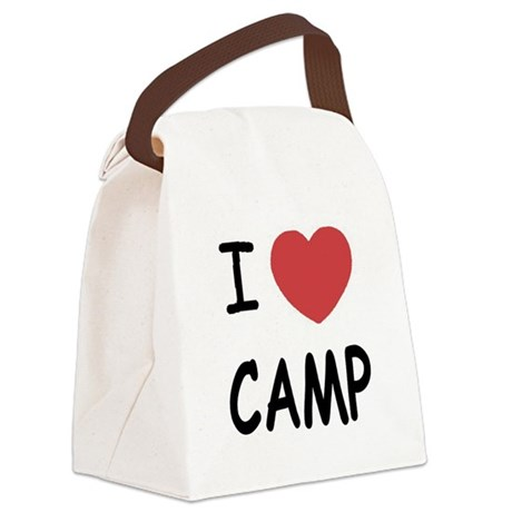 CAMP01.png Canvas Lunch Bag
