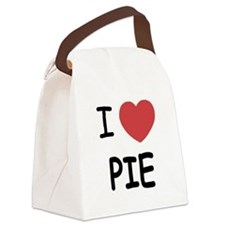 PIE01.png Canvas Lunch Bag