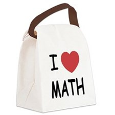i-heart-MATH01.png Canvas Lunch Bag