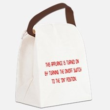 applianceon01.png Canvas Lunch Bag