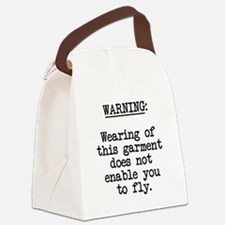 wearinggarment01.png Canvas Lunch Bag