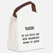sunshield01.png Canvas Lunch Bag