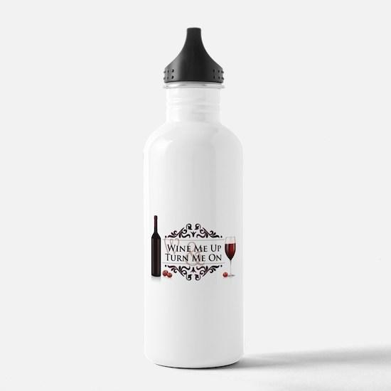 Wine Me Up Water Bottle