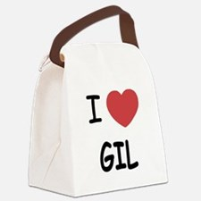 I heart GIL Canvas Lunch Bag