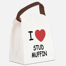 STUD_MUFFIN.png Canvas Lunch Bag