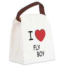 I heart FLYBOY Canvas Lunch Bag