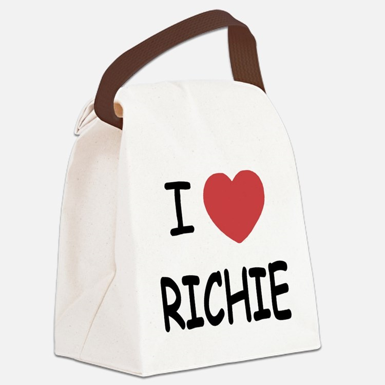 I heart RICHIE Canvas Lunch Bag