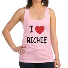I heart RICHIE Racerback Tank Top