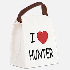 I heart HUNTER Canvas Lunch Bag