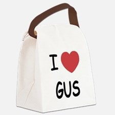 I heart GUS Canvas Lunch Bag