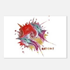 Smooth Kapow Postcards (Package of 8)