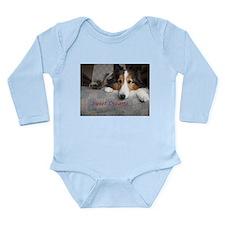 Sweet Dreams Long Sleeve Infant Bodysuit