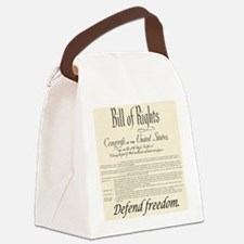 billrights06.png Canvas Lunch Bag