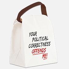politicalcorrectness01.png Canvas Lunch Bag
