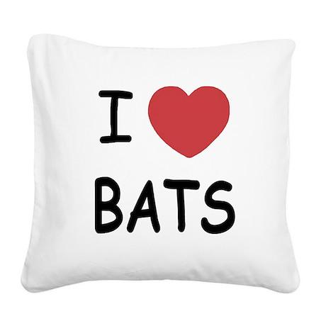 BATS.png Square Canvas Pillow