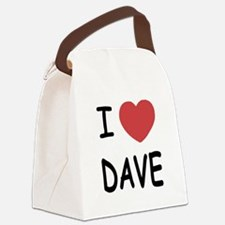 DAVE01.png Canvas Lunch Bag