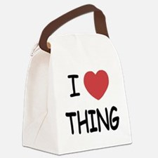 THING.png Canvas Lunch Bag