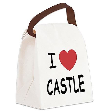 CASTLE.png Canvas Lunch Bag