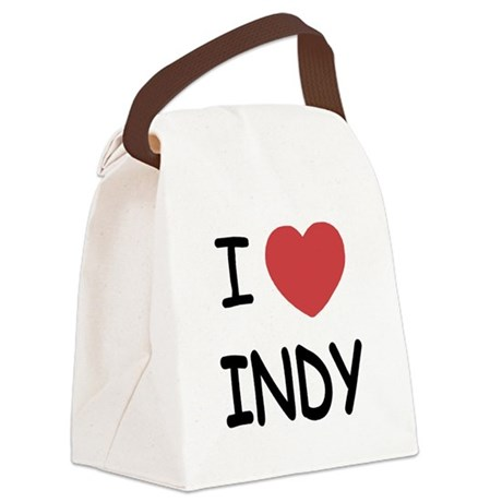 INDY.png Canvas Lunch Bag
