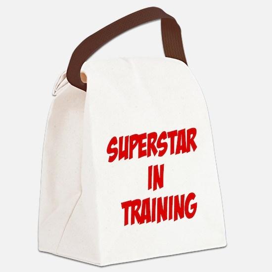 superstar.png Canvas Lunch Bag
