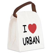 URBAN.png Canvas Lunch Bag