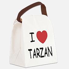 TARZAN.png Canvas Lunch Bag