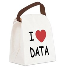 DATA.png Canvas Lunch Bag