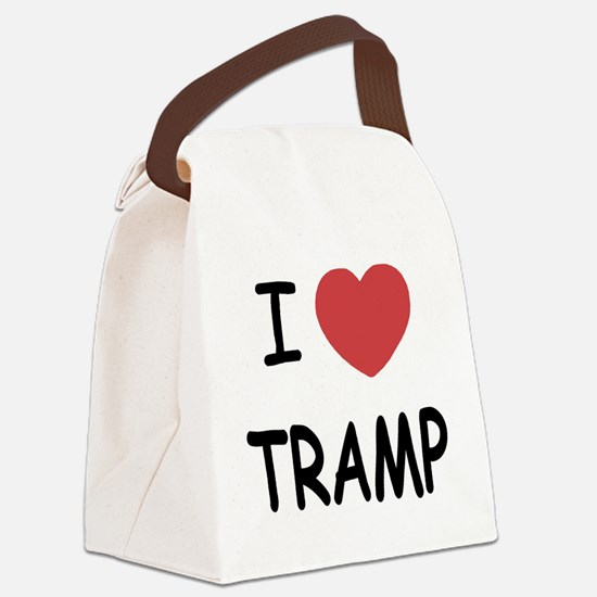 TRAMP.png Canvas Lunch Bag
