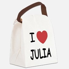 JULIA.png Canvas Lunch Bag