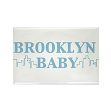 BROOKLYN BABY Rectangle Magnet