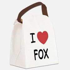 FOX.png Canvas Lunch Bag