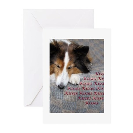 Kisses Greeting Cards (Pk of 10)